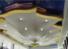 Натяжные потолки сложной формы