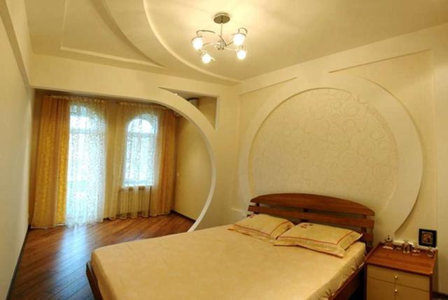Как сделать двухъярусный потолок из гипсокартона фото 943