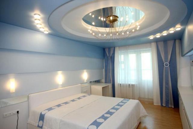 Какой можно сделать потолок в комнате фото 214