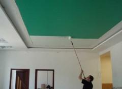 Тканевые натяжные потолки — как их правильно красить?