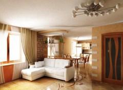 Гостиная с низким потолком — какую люстру лучше выбрать?