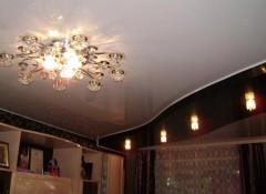 На что обращать внимание выбирая люстру на кухню с низким потолком?