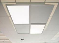 Основные преимущества и виды световых панелей на потолок