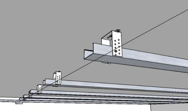 Монтаж своими руками одноуровневого потолка из гипсокартона