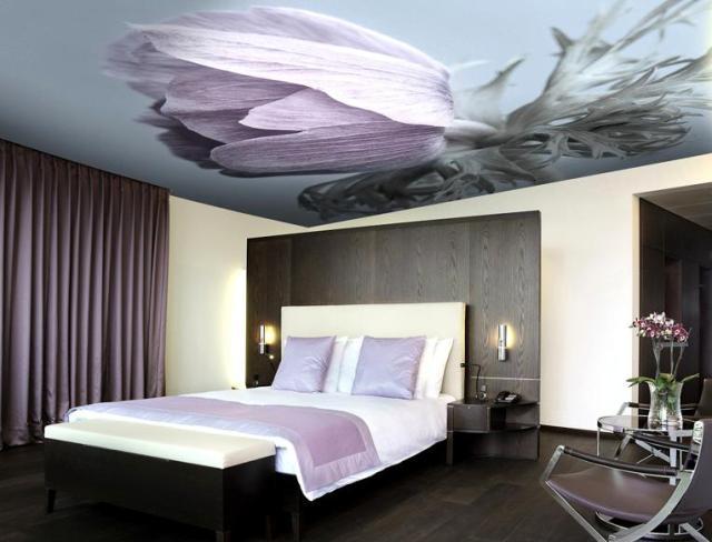 Картинки по запросу Натяжные потолки в спальню с фотопечатью