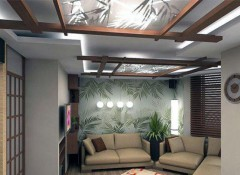 Особенности оформления потолка в китайском стиле