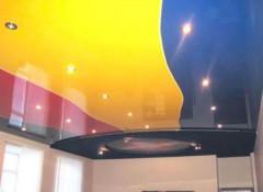 Особенности и варианты применения спаянных натяжных потолков