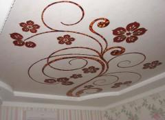 Процесс создания и варианты матовых потолков с рисунком