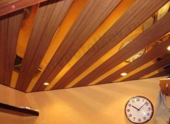 Монтаж подвесного реечного потолка своими руками