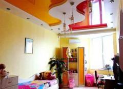 Применение натяжных потолков в детской спальне