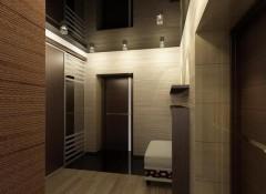 Преимущества и варианты дизайна натяжных потолков в прихожей