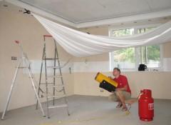 Как своими силами сделать натяжной потолок