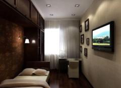 Варианты оформления потолка в маленькой комнате