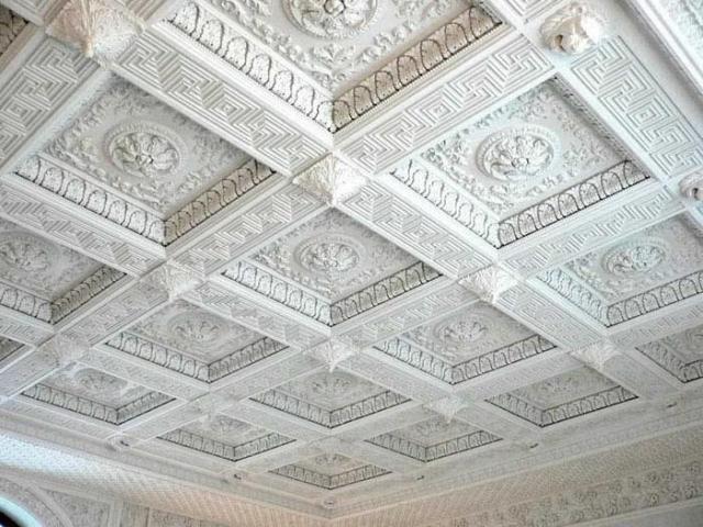 Восстановление рельефного потолка