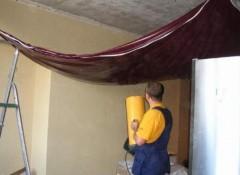 Натяжной потолок — устройство и порядок установки