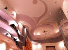 Варианты и фото дизайнерских потолков