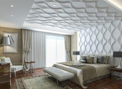 Что собой представляют пластиковые 3d потолки?