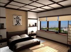 Особенности и применение потолков в японском стиле