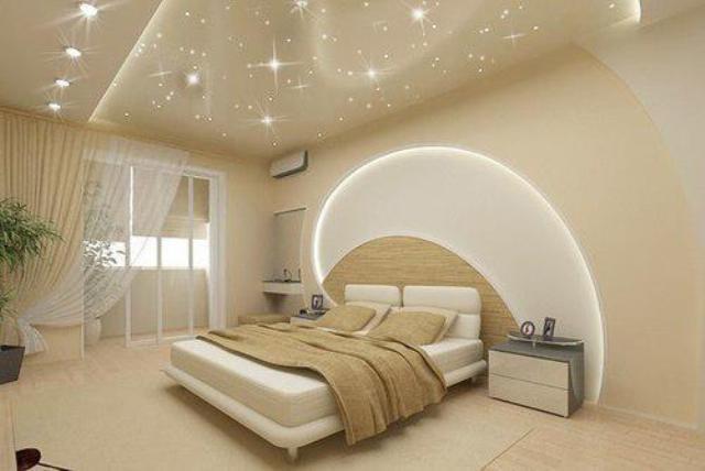 потолки красивые натяжные потолки фото