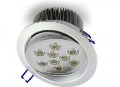 Особенности светодиодных точечных светильников для гипсокартонных потолков
