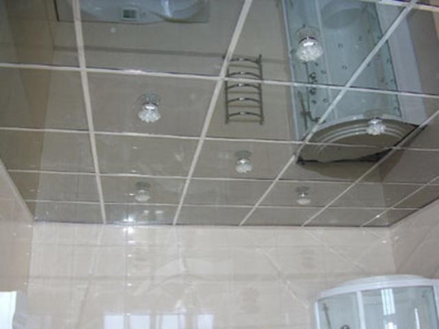 Зеркальные потолки как их сделать 57