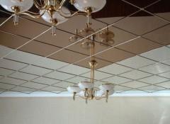 Особенности конструкции зеркальных потолков