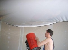 Натяжной потолок — как он устроен?