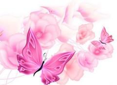 Разные варианты применения натяжных потолков с бабочками