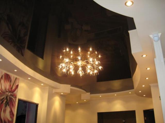 Элитные потолки из гипсокартона