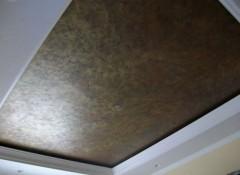 Особенности и варианты применения натяжных потолков «под кожу»