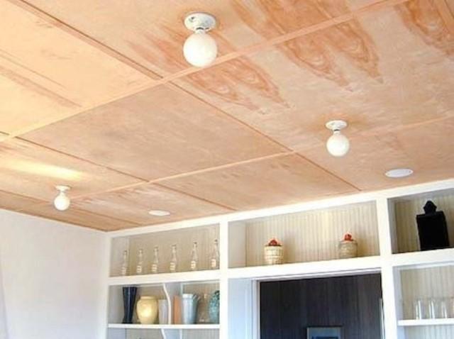Чем Покрасить Потолок Из Фанеры - Домашняя идея