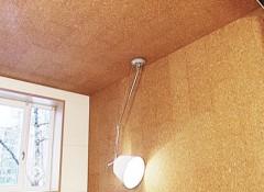 Особенности и преимущества пробковых панелей для потолка