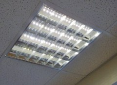 Светильники растровые для потолков Армстронг