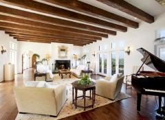 Потолки с балками — для каких стилей они характерны?