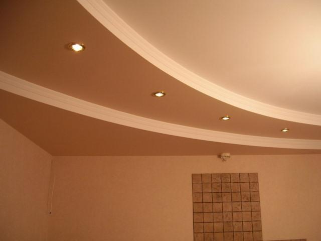Как своими руками сделать трехуровневый потолок из гипсокартона?