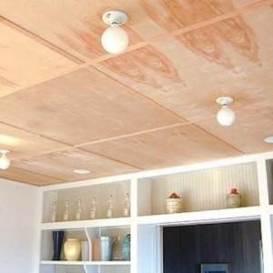 Ремонт потолка своими руками на даче