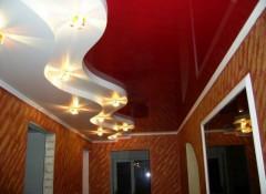 Коридор и прихожая с натяжными потолками — как организовать освещение?
