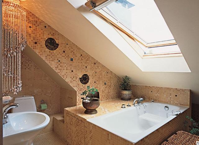 Скошенная ванная комната Смеситель Omoikiri Kado EV для кухонной мойки