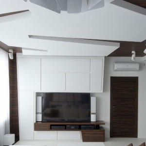 Применение в разных помещениях двойных потолков из гипсокартона