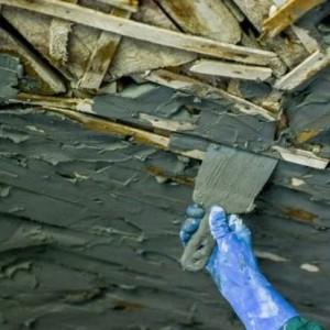 Потолок из дранки — как заштукатурить?