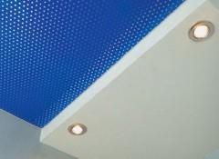 Как работают шумопоглощающие натяжные потолки