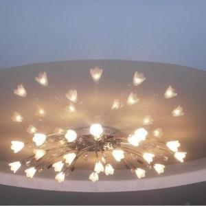 Применение для натяжных потолков светодиодных люстр