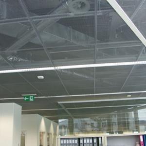 Подвесной потолок-сетка — что это такое?