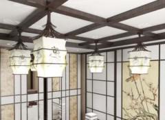 Характерные особенности японских потолков из дерева