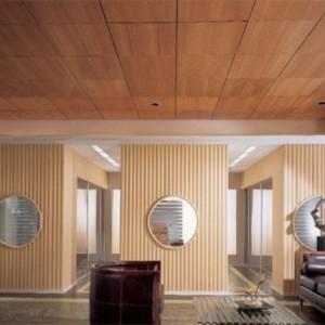 Потолки системы Армстронг с покрытием «под дерево»