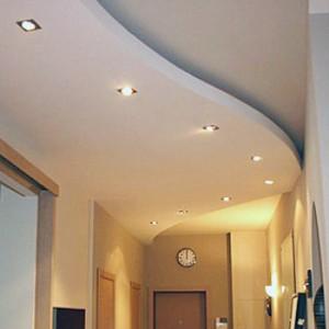 Потолок в коридоре — какой лучше сделать?