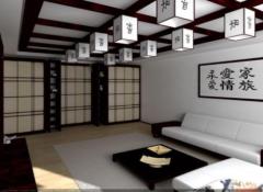 Как своими руками сделать потолок в японском стиле