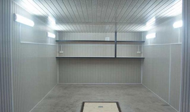 Легкий гараж