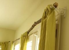 Карниз для штор в деревянном доме своими руками