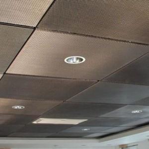 Преимущества и особенности потолоков из просечно вытяжной сетки